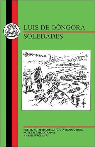 Gongora: Soledades (Spanish Texts) PDF - TomhatijaTk