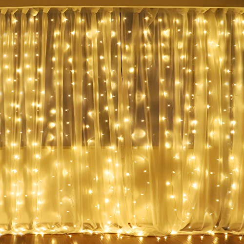 Christmas Curtain Lights Outdoor