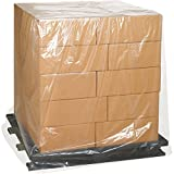 Aviditi PC520 Perforated Pallet Cover, 44'' Length x 54'' Width x 60'' Height, 2 mil Thick, Clear (Case of 50)