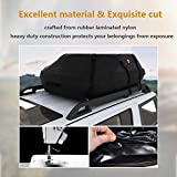 20.7 Cubic Feet Waterproof Car Vehicles Roof Top Cargo Carrier Easy to Install Luggage Travel Storage Bag [US STOCK]