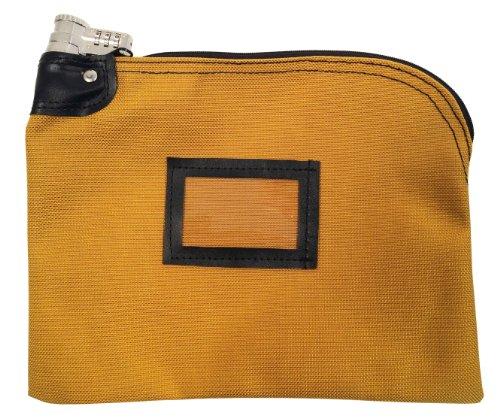 - Locking Bank Bag 1350 Ballistic Weave Nylon Combination Keyed Security Copper