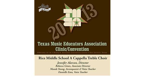 2013 Texas Music Educators Association (Tmea): Rice Middle School A