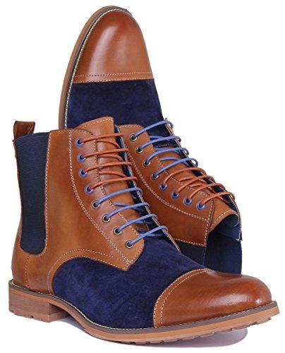 42 Justin Homme CD177 Chaussures XB Lacets 5 Ville pour Marron Marron Nigel à Reece de BSnvBOx