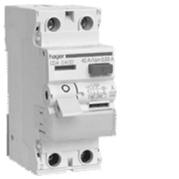 Hager CDA216D FI-Schalter 16A 30mA A-Typ 2-polig: Amazon.de: Baumarkt