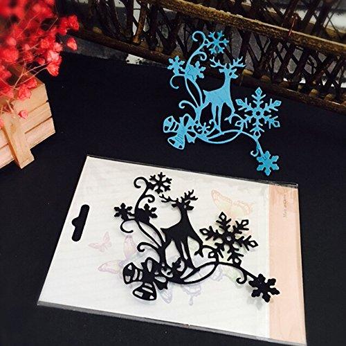 Die cuts Christmas Halloween Paper Decor Cutting Dies Stencil Scrapbooking DIY Handcrafts Home Garden Kitchen Arts Crafts Scrapbooking Cutting Dies