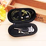 KathShop Portable Headphone Carry Case for Cellphone USB Chargers Cables Headphone Cable Black Box Storage Cases 1106040mm HDD Bag