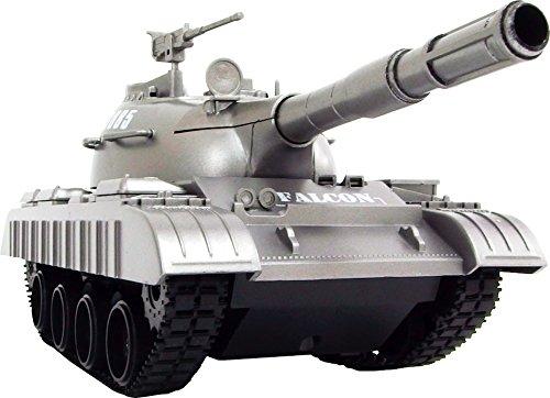 連結可動式 キャタピラ R/C BATTLE TANKラジコン 戦車 おもちゃ 子供 (3885シルバー)