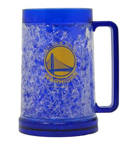 State Freezer Mug - The Memory Company, LLC NBA Golden State Warriors Freezer Mug