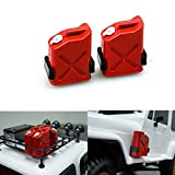 FAST-RC 2pcs 1/10 Scale ABS Fuel Tank for 1/10 Axial Wraith SCX10 EXO AX10 Truck Accessory