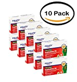 PACK OF 10 - Equate: Suphedrine PE Sinus & Allergy Tablets Antihistamine/Nasal Decongestant, (24 Ct/Pck)