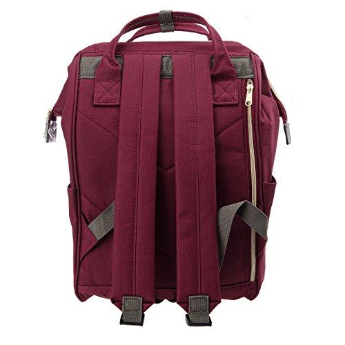 Amazon.com  Anello Official Ruby Red Japan Fashion Shoulder Rucksack  Backpack Hand Carry Tablet Diaper Bag Unisex  Shoes de5973976c8e9