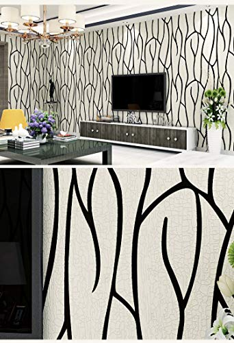 XIAOLI& wallpaper living room bedroom TV backdrop Simple modern Non-woven fabric 3D stereo, 1000cm53cm