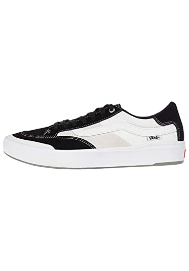 b2c704b1 Amazon.com | Vans Off The Wall Berle Pro Sneakers (Black/White ...