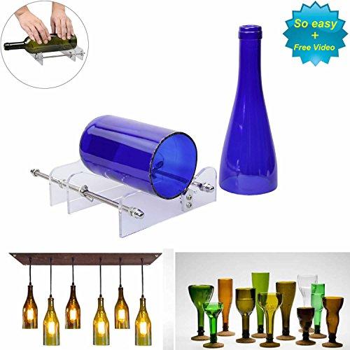 LANMU DIY Glas Wein Flasche Cutter Schneiden Maschine Jar Kit Craft Maschine Recycle Werkzeug