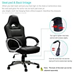 IntimaTe WM Heart Gaming Chairs,Ergonomic Computer Office Chair for Adults and Kids,Adjustable Recliner Chair Pc Desk…
