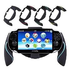 Aweek® Bracket Handgrip Handle Grip Case for Playstation Vita 1000 PSVita PS Vita - Blue