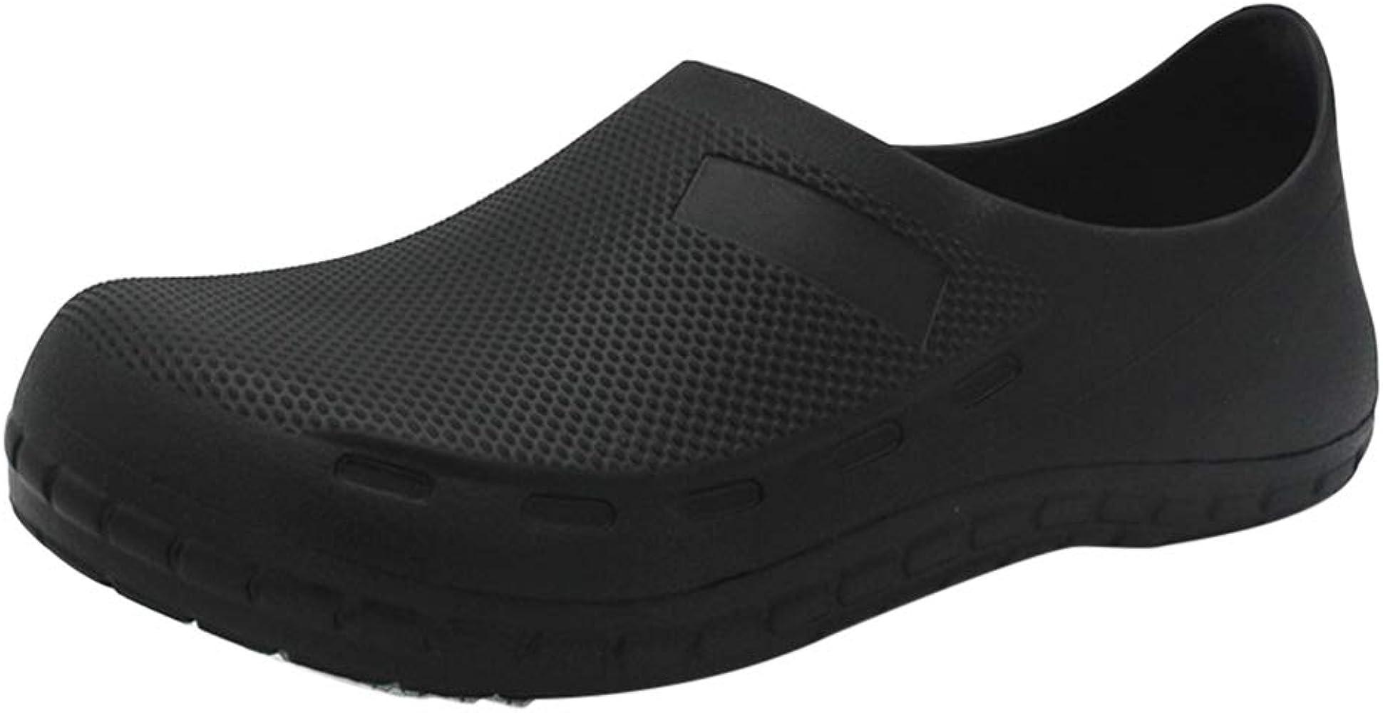 últimos diseños diversificados gran inventario promoción Jiyaru Zapatos de Trabajo Zapatos para Sanitarios y Hosteleria para Hombre,  Zuecos de Trabajo para Cocina Cocinero Antideslizante Resistente al Agua y  ...