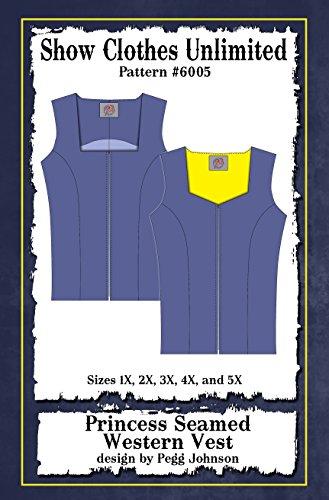 (6005 Plus Sizing Western Vest Pattern)