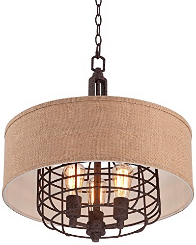 Tremont 20'' Wide Rust Pendant Light by Franklin Iron Works by Franklin Iron Works (Image #4)