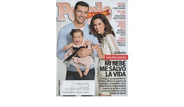 People En Espanol 2014 April - Jacky Bracamontes + 4 More Pages Inside Magazine: PES: Amazon.com: Books