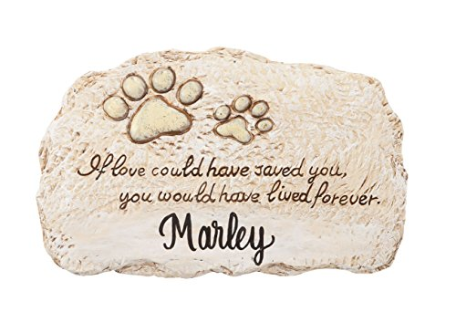 Fox Valley Traders Personalized Forever Pet Memorial Stone (Pet Memorial Personalized Stone)