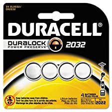 Lithium Medical Battery, 3V, 2032, 4/Pk, Sold as 2 Package