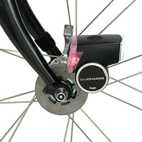 Tigra Sport Fahrrad Dynamo BikeCharge V3.0 mit eingebautem 1000mAh Akku