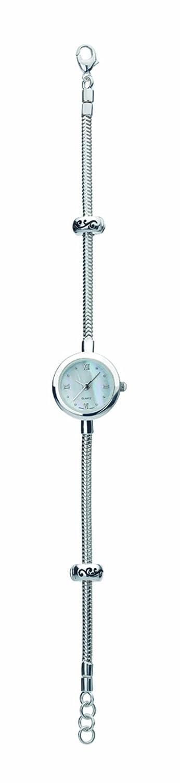 Virtue Damen-Armbanduhr Analog Silber Silber VSW001