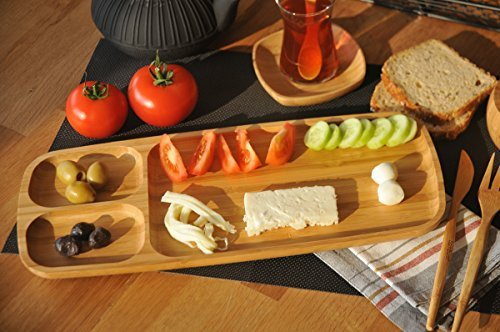 Wood Appetizer Set - 8