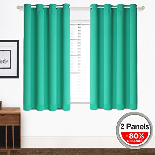 Blackout Curtains Grommet 2 Panels (W52