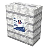 Kleenex 21005 KCC21005 Facial Tissue, 2-Ply, White (Pack of 30)
