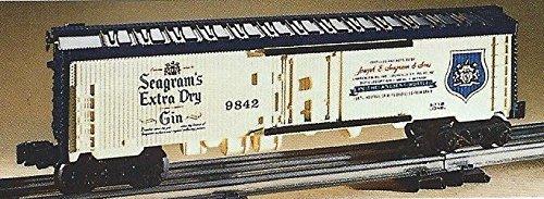 LIONEL TRAINS SEAGRAMS GIN BILLBOARD REEFER 6-9842