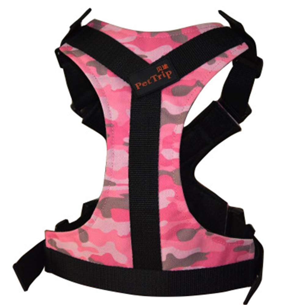 Pink Small Pink Small Adjustable Soft Mesh Cloth Outdoor Pet Vest