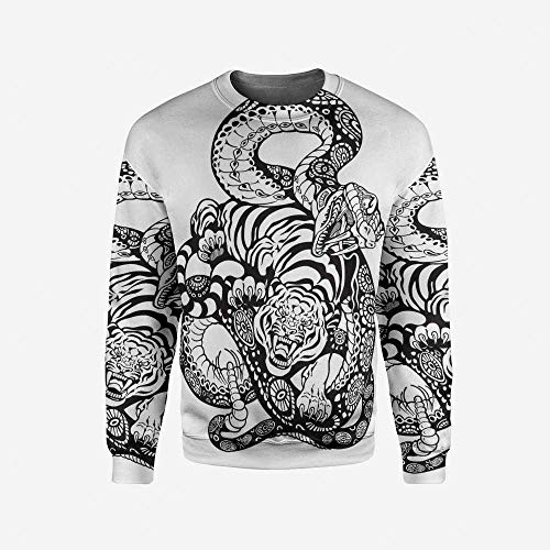 iPrint Mens Adventure Pullover Sweater by iPrint