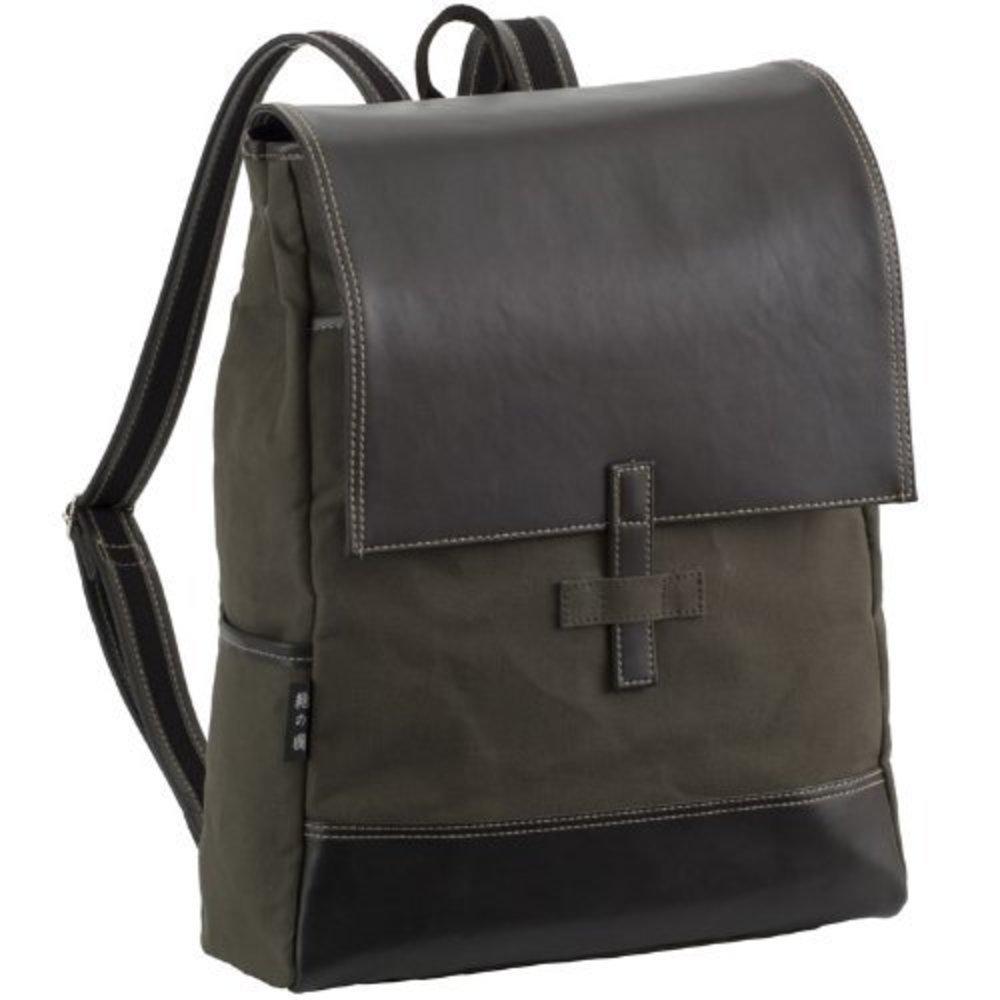 鞄の國 バックパック オリーブ No.42526 /リュックサック/防水/撥水/大容量 B00KR37SYQ