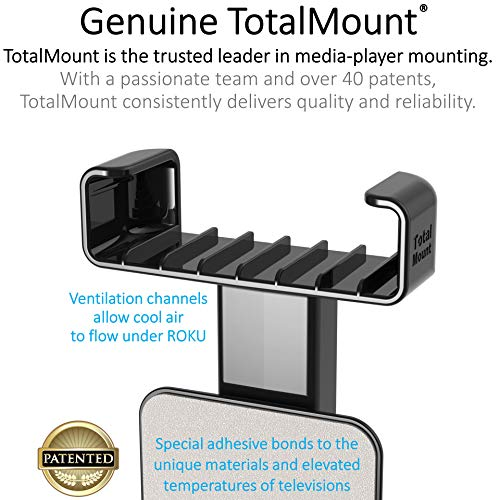 Large Product Image of TotalMount for Roku Express and 2018 Roku Premiere (Positions Roku for Remote Reception)