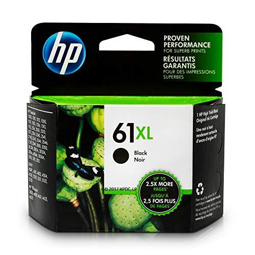 HP 61XL | Ink Cartridge | Black | CH563WN (Hp Xl Ink)