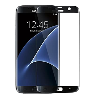 weforever 03mm 25d 3d full coverage tempered glass screen protector for samsung galaxy s7 amazoncom tempered glass