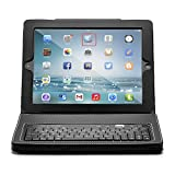 Hype HY1020BT / HY-1020-BT / HY-1020-BT Leather Bluetooth Keyboard Folio for iPad-Black