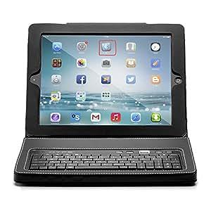 Hype HY1020BT / HY-1020-BT / HY-1020-BT Leather Bluetooth Keyboard Folio for iPad-Black