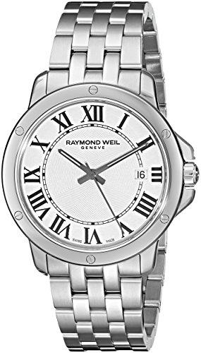 Raymond Weil Men's 5591-ST-00300 Tango Analog Display Swi...