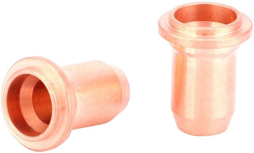 Plasma Cutting Tip Durable 22pcs PT60 PT40 Plasma Cutting Torch Consumables 1.0mm Tip Electrode Shield Cup Stand-Off