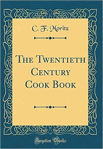 Book The Twentieth Century Cook Book (Classic Reprint)