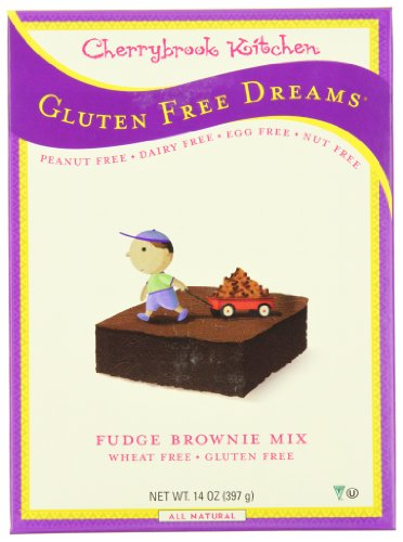 Free Cherrybrook Gluten Kitchen (Cherrybrook Kitchen Gluten Free Dreams, Fudge Brownie Mix, 14-Ounce Boxes (Pack of 6))