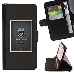 Momo Phone Case / Flip Funda de Cuero Case Cover - Andy Lund;;;;;;;; - Samsung Galaxy A3