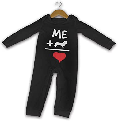 I Love You This Much Dachshund Newborn Baby Girl Boy Bodysuit Jumpsuit Short Sleeve Bodysuit Tops Clothes