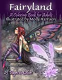 img - for Fairyland - A Coloring Book For Adults: Fantasy Coloring for Grownups by Molly Harrison book / textbook / text book