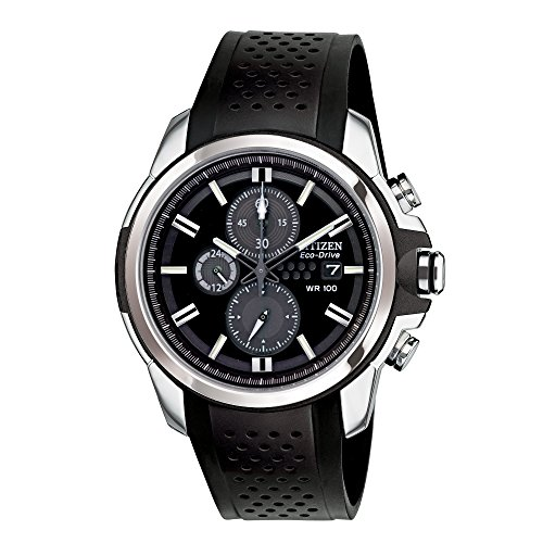 Citizen Men's Drive from Citizen Eco-Drive AR 2.0 Stainless Steel Chronograph Watch ()