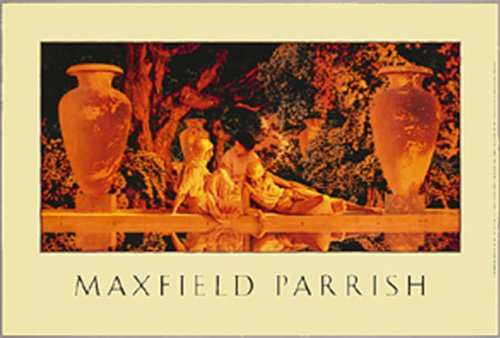 Empireposter -  - Maxfield Parrish - Garden of Allah - Size Approximately 91.5 x 61 cm - Poster -