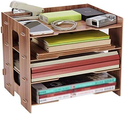 Datei Racks 6Tier Organizers for Unternehmen Home School Stores Organisieren von Dateiordnern - Desktop Document Letter Tray Organizer Datei-Halter-Desktop